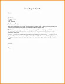 How To A Letter Of Resignation by 8 How To Address A Letter Of Resignation Resumed