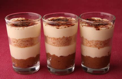 Delfi Briko Chocolate 125 Gr recette du tiramisu dress 233 en verrine pratique fr