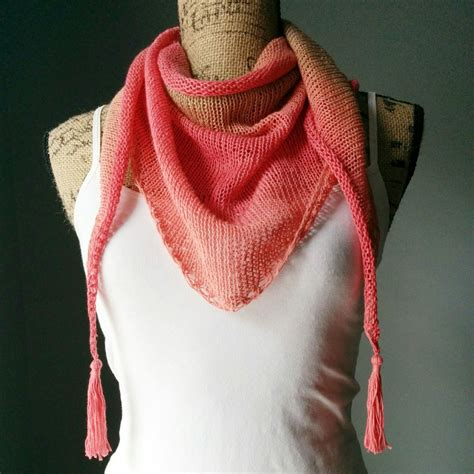how to knit a triangle shawl for beginners knit triangle scarf pattern breeds picture