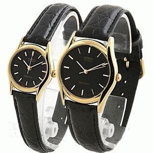 Jam Tangan Pasangan Hegner Hitam Gold 8521 Original jam tangan casio mltp 1094q tali kulit original