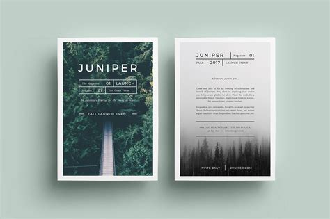 flyer templates j u n i p e r flyer template flyer templates creative market