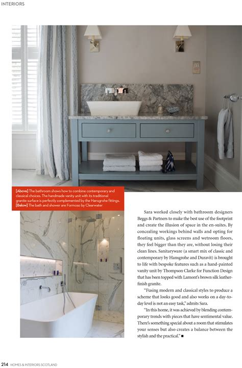 homes interiors scotland magazine april 2018 thompson