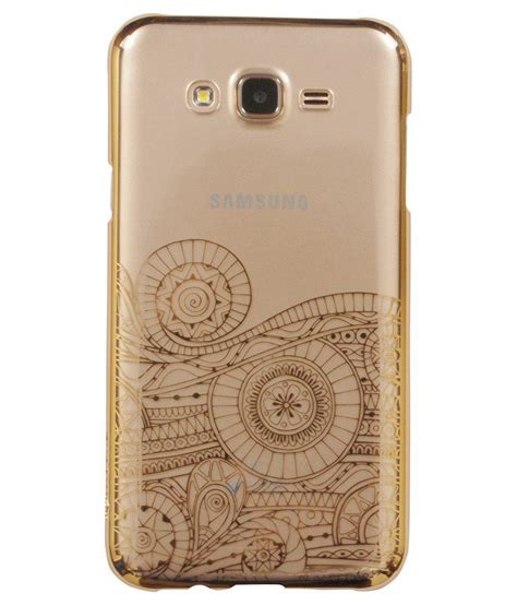 Samsung Galaxy J7 Bepak Clear Transparant Back Cover oforio back cover for samsung galaxy j7 golden plain back covers at low prices