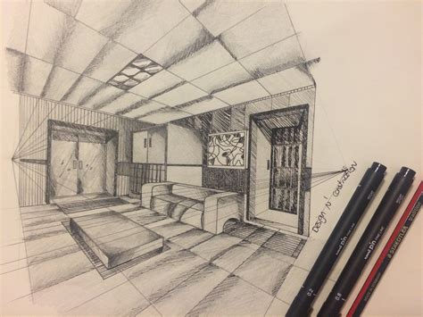 two point perspective room how to draw a two point perspective room