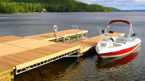 dock r r j machine custom built docks in peterborough s cottage country