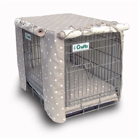 Dog Crate Covers | dog crate cover by hugo hennie notonthehighstreet com