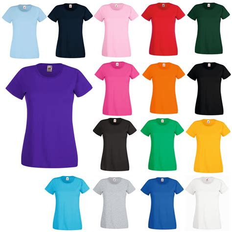 Tshirt 3 Colour Allsize Fit Size S L Ld 90 Cm 3 fruit of the loom fit t shirt 11 cols all sizes ebay
