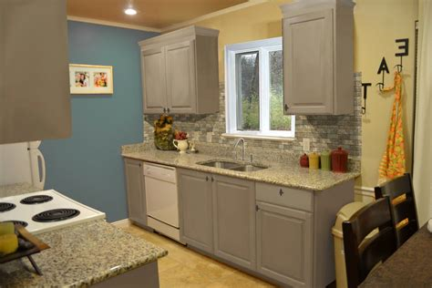 Interior Of Kitchen Cabinets Small Kitchen Interior Featuring Gray Kitchen Cabinet Designs