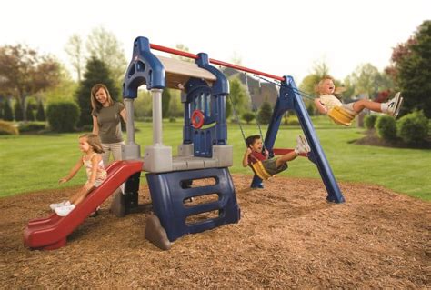 swinging toys small swing sets fun in your backyard cool outdoor toys