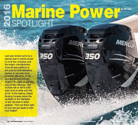 online boat test home power boating canada