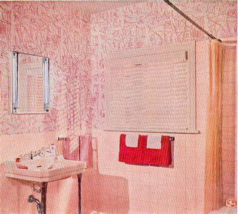 pink mold in bathroom 1956 a good year for pink bathrooms hooked on houses