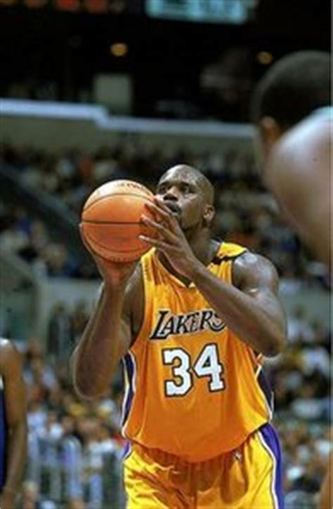 shaquille oneal free throw 6 anything but free throws realclearsports