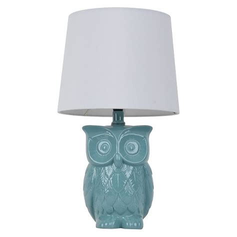Target Home Decor Coupon by Threshold Owl Figural Table Lamp Target