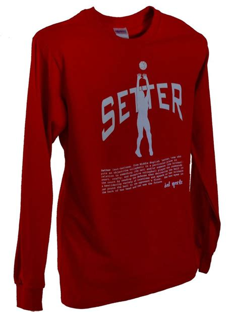 setter definition in volleyball setter volleyball long sleeve position shirt with