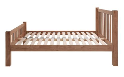 Wood Bed Frames Uk Silentnight Ayton Solid Oak Wooden Bed Frame Mattress