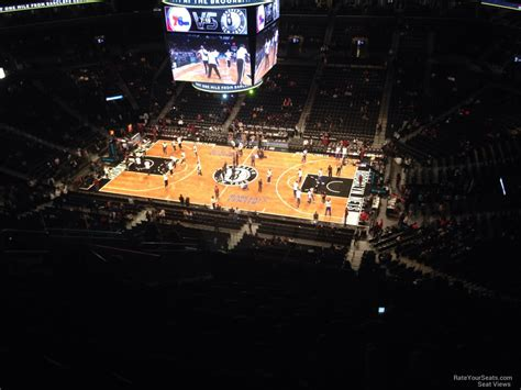 section 222 barclays center barclays center section 222 brooklyn nets