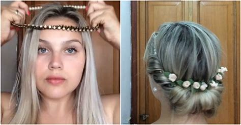 headband tuck hairstyle headband tuck hairstyle tutorial how to instructions