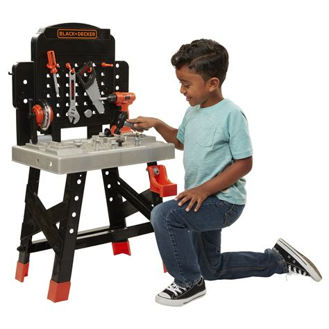 kids black and decker work bench black and decker kids tool bench mariaalcocer com