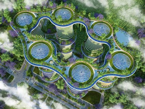 Aquaponics Vertical Garden - urban farming utopia in india produces more energy than it uses inhabitat green design