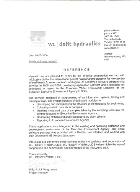 Complaint Letter To Project Manager Recommendation Letter For Project Managers Project Management Consultant Re Mendation
