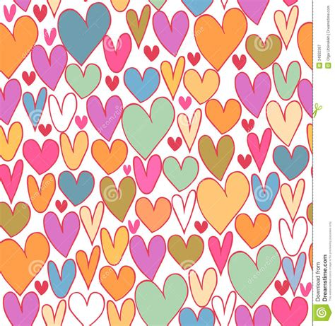 cute love pattern happy bright abstract love pattern cute cartoon backdrop