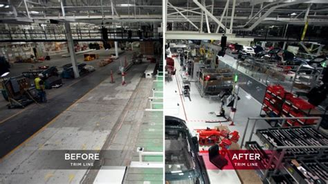 Tesla Fremont Ca Tesla Factory Retooling Completed Ahead Of Planned