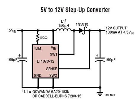 resistor 12v para 5v conversor cc cc de 5 volts to 12 volts new electronics