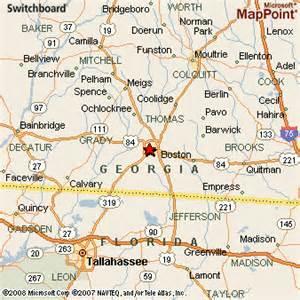 thomasville map thomasville