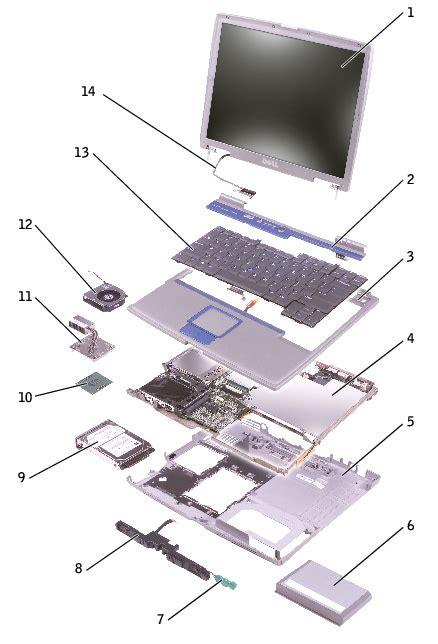 dell laptop parts diagram dell inspiron parts diagram dell desktop parts diagram