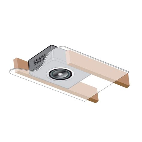 In Ceiling Speaker Enclosure by Dynamat Europe Dynabox Speaker Enclosure For In Ceiling