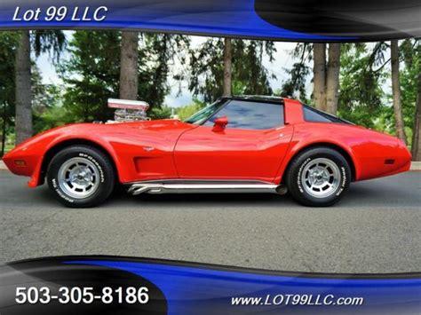 corvette supercharger for sale 1979 chevrolet corvette blown 6 71 supercharger t tops