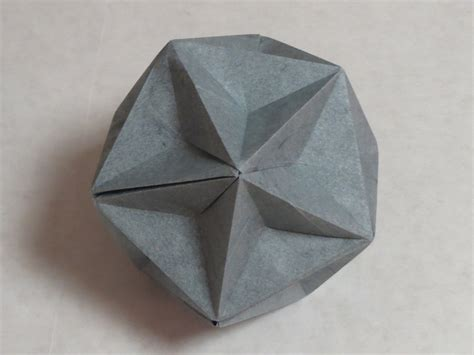 Origami Diagrams Compound Of Dodecahedron And Great - zing origami polyhedra