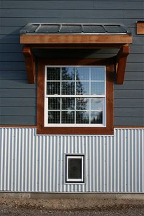 corrugated awning rustic steel siding 2 1 2 corrugated in truten by