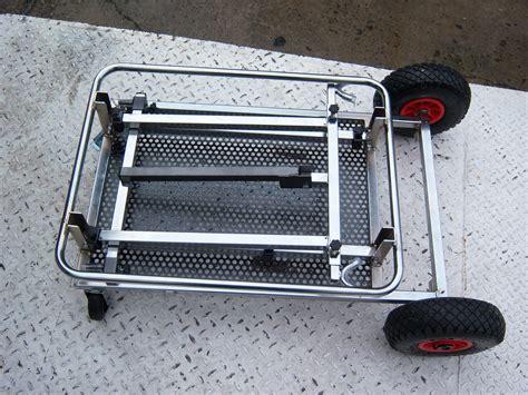 carrello porta kart carrello porta kart 4 piantoni cromato i monelli kart