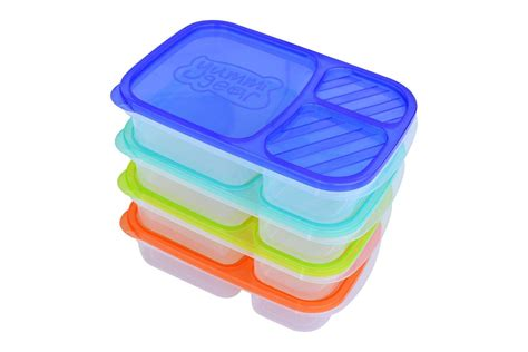 buy yummi gear divided lunch boxes 3 compartments set