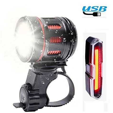 bright bike light charger best rechargeable bicycle headlight out of top 20