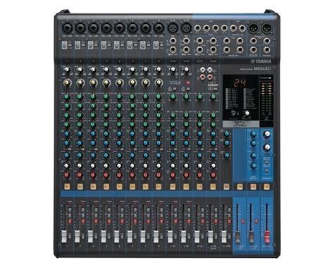 Mixer Yamaha 16 Xu yamaha mg16xu mixer usb con effetti yamaha