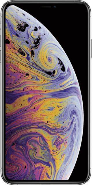 apple iphone xs max 256gb silver verizon mt5e2ll a best buy