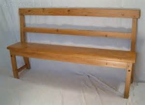 pine settle bench pine settle or bench antiques atlas
