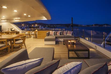 yacht upper deck eight upper deck detail yacht charter superyacht news