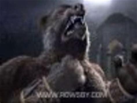 Werebear Transformation Skyrim