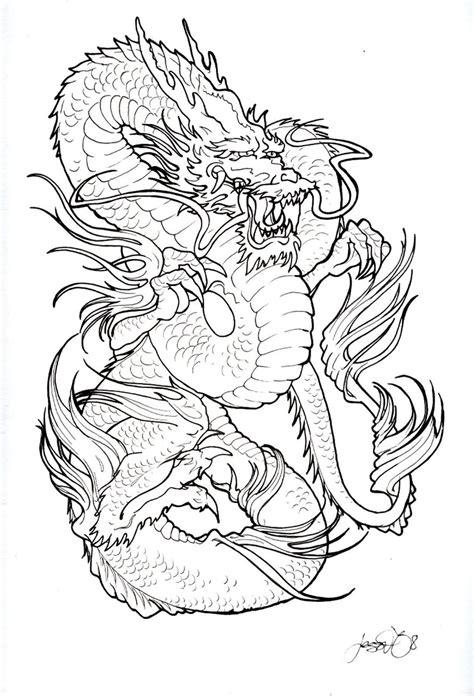 black and white dragon tattoo designs 40 black and white designs