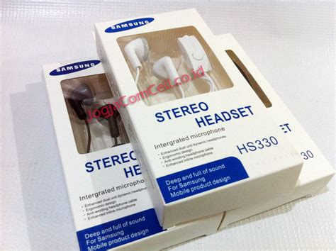 Sale Samsung Hs 330 Discount earphone stereo samsung hs330 6 jogjacomcell co id