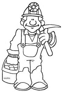 Coal Mining Colouring Pages sketch template