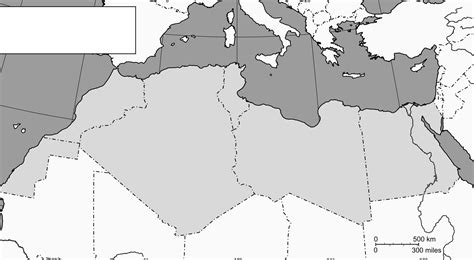 Africa And Middle East Outline Map by Blank Middle East Map