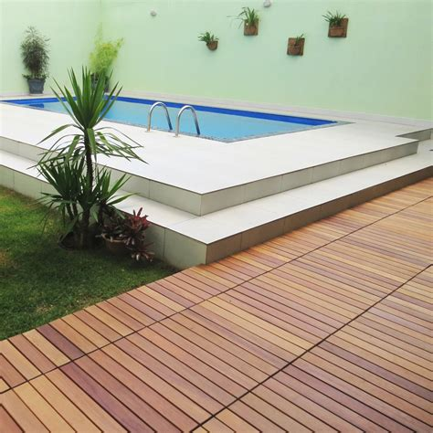 flexdeck interlocking patio tiles 12 x 24 set of 5 in