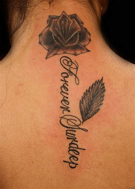 black rose back tattoo 30 black designs creativefan