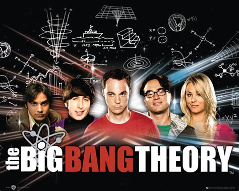 Metal Wall Murals big bang theory poster europosters