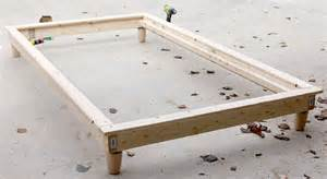 Diy Platform Bed How To Diy Platform Bed
