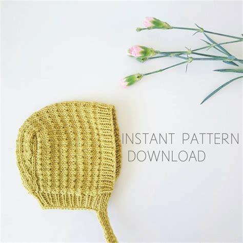 knitting pattern download pdf baby bonnet knitting pattern astrid pdf download